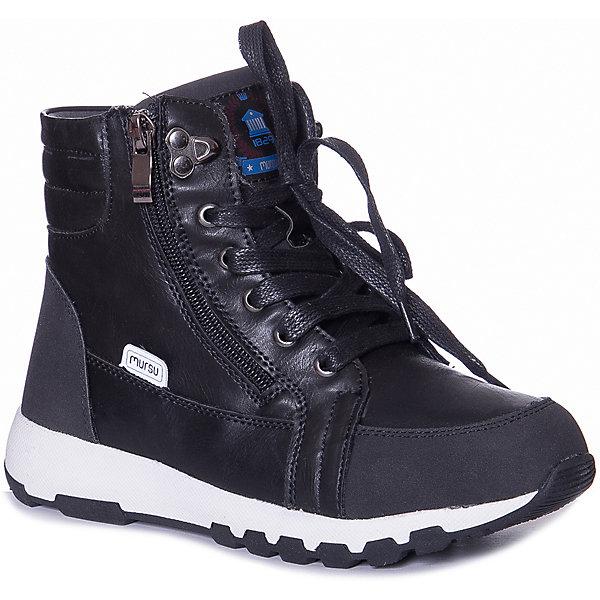 MURSU Ботинки Mursu для мальчика ботинки для мальчика mursu цвет черный 205742 размер 36