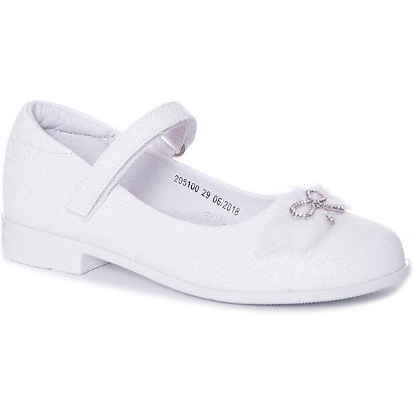 Купить Туфли Mursu для девочки, Китай, белый, 27, 31, 32, 28, 29, 30, Женский