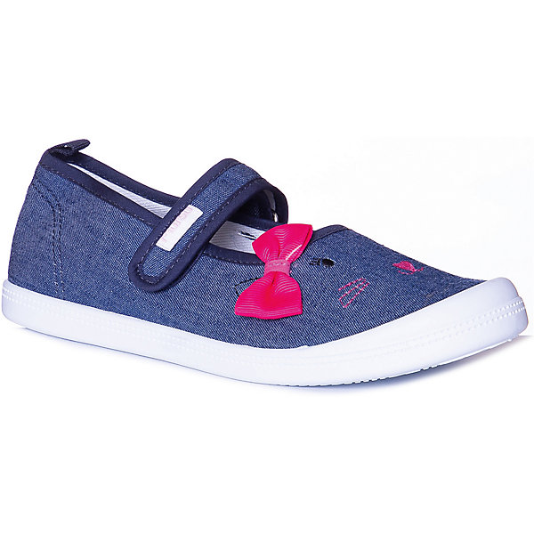 Купить Туфли Mursu для девочки, Китай, синий, 27, 30, 29, 32, 31, 28, Женский