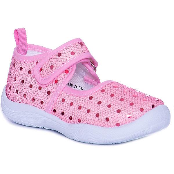 Купить Туфли Mursu для девочки, Китай, розовый, 25, 23, 24, 22, 26, 21, Женский