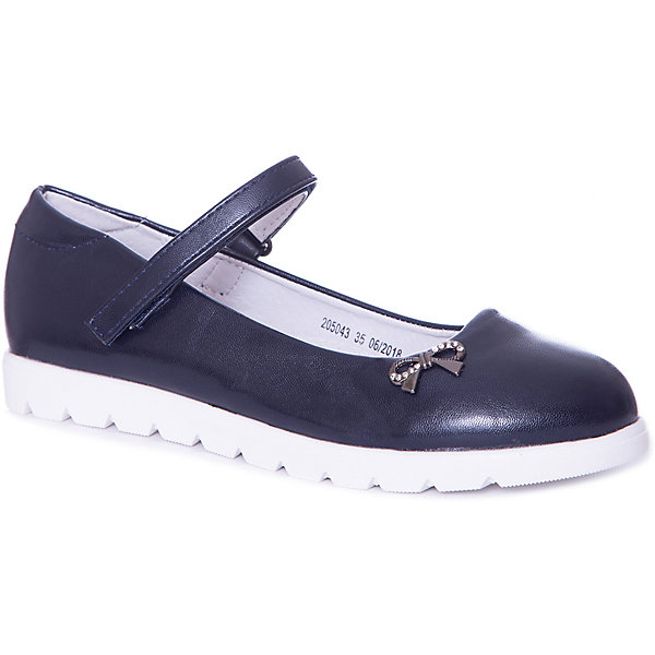 MURSU Туфли Mursu для девочки женская обувь на плоской подошве 2015