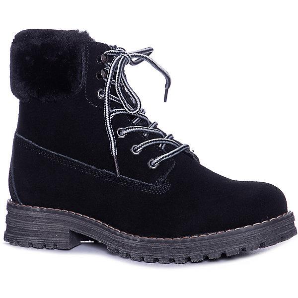 KEDDO Ботинки KEDDO для девочки ботинки для девочки 558117 01 01f чёрный keddo