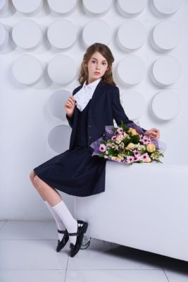 Жакет Choupette для девочки, артикул:8743894 - Школьная форма