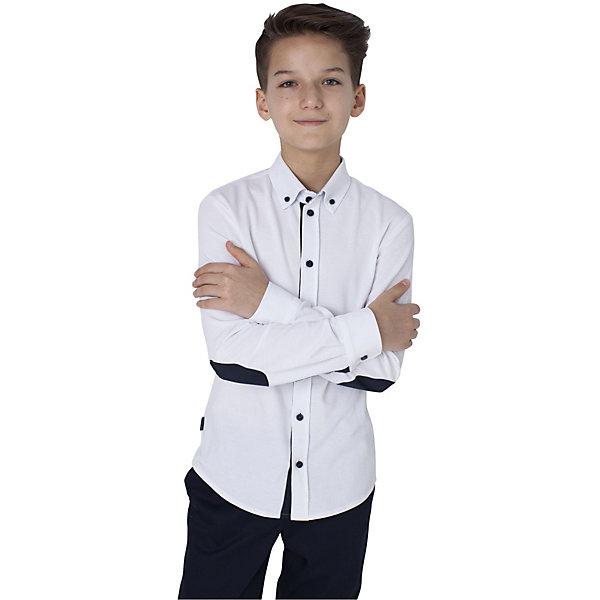 Купить Рубашка Choupette для мальчика, Россия, белый, 134, 158, 170, 146, 164, 140, 128, 122, 152, Мужской