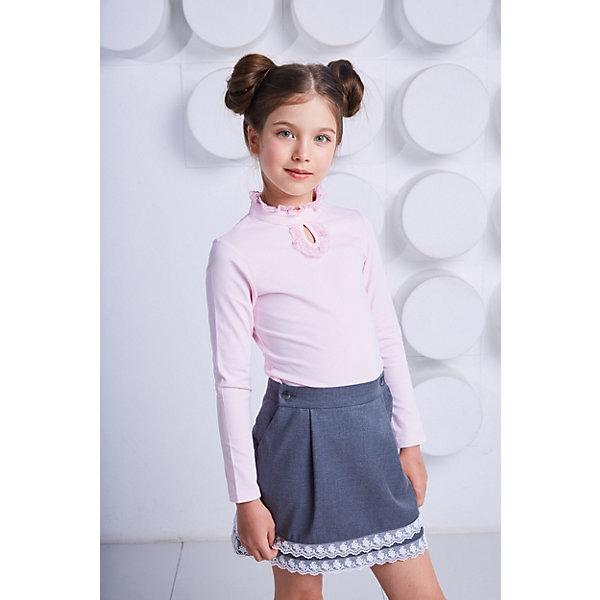 Блузка Choupette для девочкиБлузки и рубашки<br>Характеристики товара:<br><br>• цвет: розовый;<br>• состав ткани: 90% хлопок, 10% полиуретан;<br>• сезон: круглый год;<br>• особенности модели: школьная, нарядная;<br>• длинные рукава;<br>• страна бренда: Россия.<br><br>Модная легкая блузка для детей - универсальная вещь как для школы, так и для создания нарядного или демократичного комплекта. Эта блузка для ребенка сделана из дышащего натурального материала, крой не сковывает движения - всё это обеспечит не только аккуратный внешний вид, но и комфорт. Детская розовая блузка с длинным рукавом отличается кружевами в виде декора, она выполнена в приятном нежном цвете. Детская одежда от популярного бренда Choupette - это вещи, отличающиеся высоким качеством и модным дизайном в европейском стиле.<br>Ширина мм: 186; Глубина мм: 87; Высота мм: 198; Вес г: 197; Цвет: розовый; Возраст от месяцев: 72; Возраст до месяцев: 84; Пол: Женский; Возраст: Детский; Размер: 122,140,152,146,134,128; SKU: 8743946;