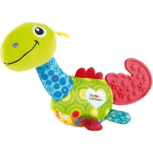 Lamaze Развивающая игрушка Lamaze Мини-динозавр lamaze развивающая игрушка музыкальная корова lc27560