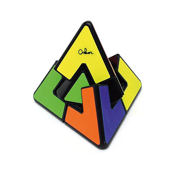 Головоломка Mefferts Пирамидка ДуэльГоловоломки Кубик Рубика<br>Характеристики товара:<br><br>• возраст: от 5 года;<br>• материал: пластик;<br>• размер: 12х10,5х10 см;<br>• вес упаковки: 230 гр.<br>• страна бренда: Нидерланды.<br><br>Пирамидка Дуэль - это хорошая головоломка для новичков и самых юных головоломщиков. Она легко крутится, у неё интуитивно-понятная задача и её может решить даже ребенок, не прибегая к формулам и подсказкам.<br><br>Здесь всего 5 подвижных элементов - 4 угловых и центральное ядро, по-этому Pyraminx Duo легко запутать и несложно собрать.