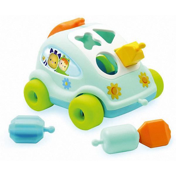 Smoby Развивающий автомобиль с фигурками Smoby, голубой