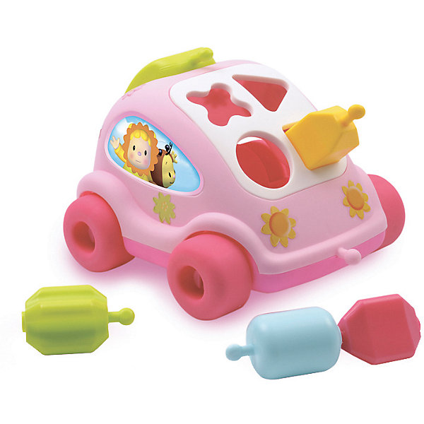 Smoby Развивающий автомобиль с фигурками Smoby,