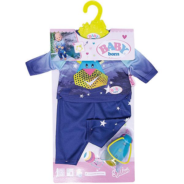 Zapf Creation Удобный костюмчик и светлячок-ночник BABY born, кукла zapf creation baby born удобный костюмчик и светлячок ночник 824 818