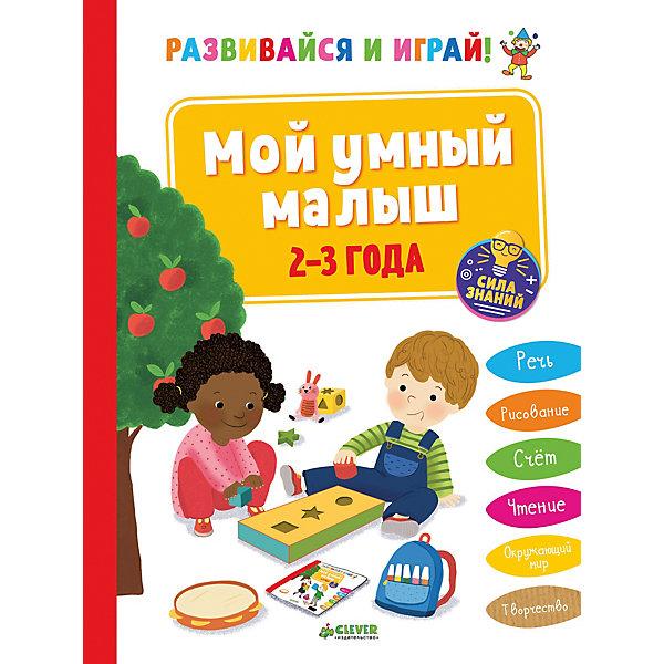 Купить СЗ. Развивайся и играй! Мой умный малыш. 2-3 года/Эанно М., Clever, Латвия, Унисекс
