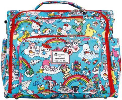 Сумка рюкзак для мамы Ju-Ju-Be B.F.F., rainbow dreams, артикул:8786470 - Всё для мам