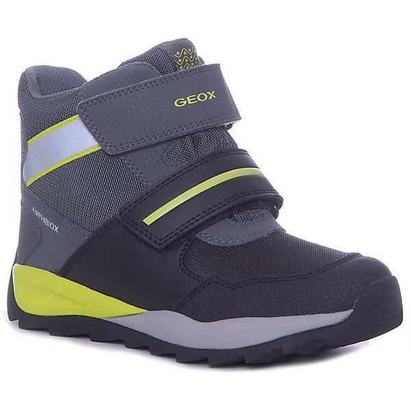 Купить Утепленные ботинки GEOX, Вьетнам, серый, 34, 27, 28, 30, 32, 29, 31, 33, 26, Мужской
