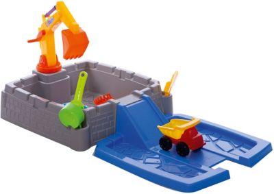 Набор для воды и песка Hualian  Большая стройка , артикул:8799101 - Детская площадка