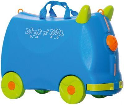 Чемодан на колесиках Ride n'Roll, голубой, артикул:8799103 - Путешествия