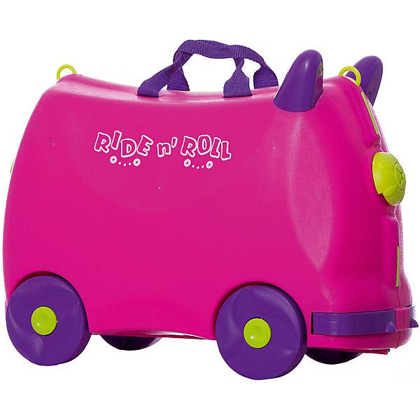 Чемодан на колесиках Ride n'Roll, розовый Ride n'Roll