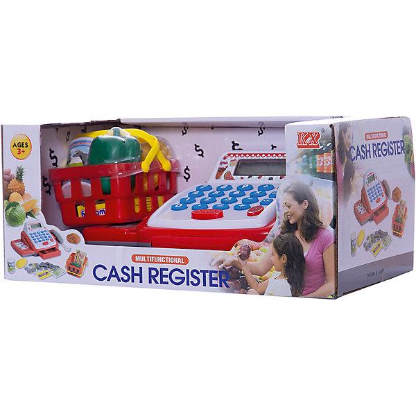 KX Игровой набор Касса с продуктами касса shantou кассовый аппарат