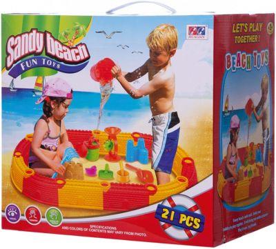 Набор для воды и песка Hualian  Замок , артикул:8799129 - Детская площадка