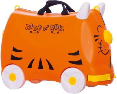 Чемодан на колесиках Ride n'Roll, оранжевый, артикул:8799145 - Путешествия