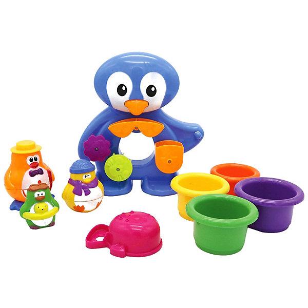 Xing Long Da Toys Игровой набор для купания Пингвины на отдыхе xing long da toys игрушка для ванны солнечный краб