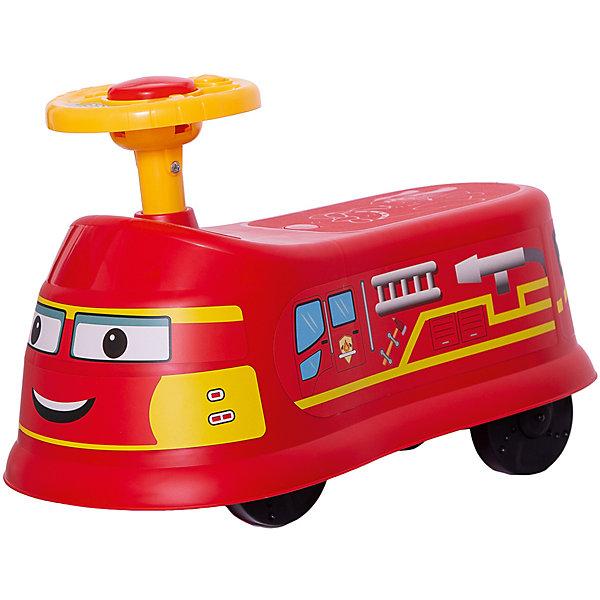 Qunxing Tongzhile Машинка-каталка Транспорт, красная