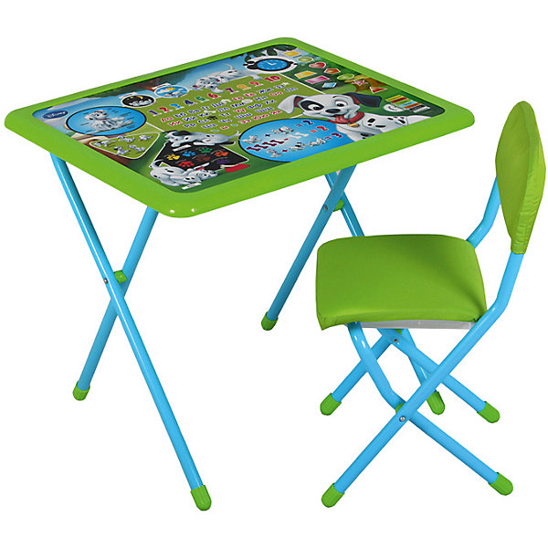 Дэми Набор мебели Дэми 101 далматинец (1,5-8 лет), зеленый