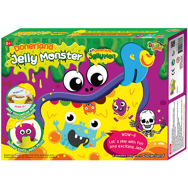 Donerland Набор для создания жвачки рук Jelly Monster S-Jellymon