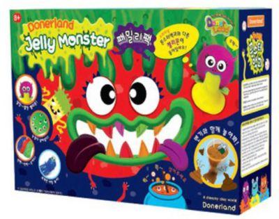 Набор для создания жвачки для рук Donerland  Jelly Monster  Family Pack, артикул:8808523 - Лизуны и жвачки для рук