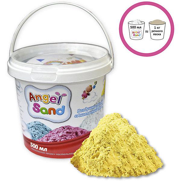 Donerland Кинетический игровой песок Donerland Angel Sand 500 гр., жёлтый donerland 0 9