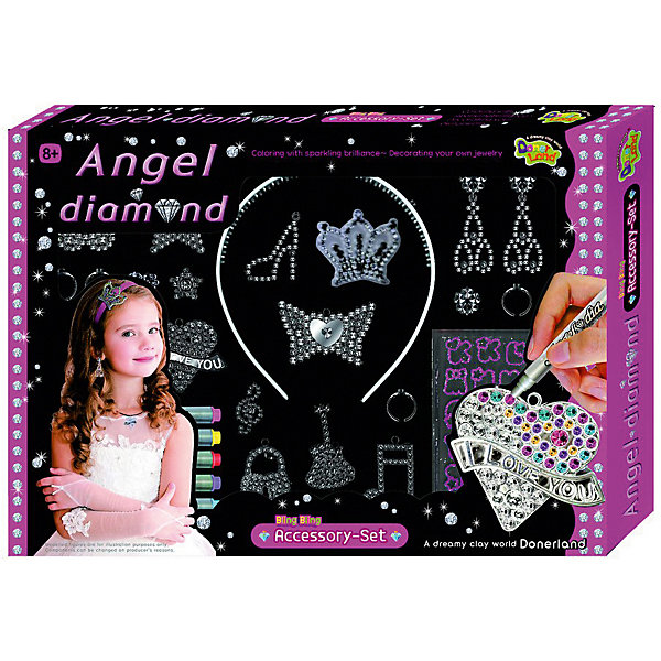 Donerland Набор для создания и декора украшений Angel Diamond Accessory Set