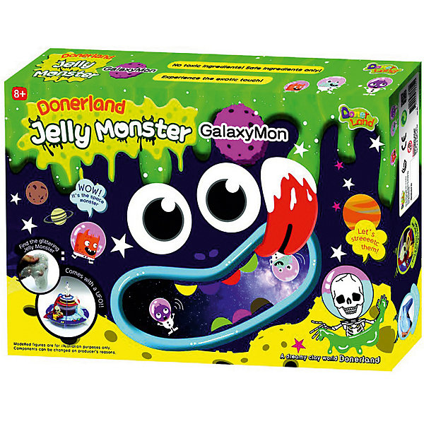 Donerland Набор для создания жвачки рук Jelly Monster Galaxymon