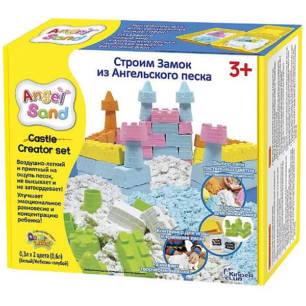 Купить Кинетический игровой песок Donerland Angel Sand Песочный замок 0, 6 л., Корея, разноцветный, Унисекс