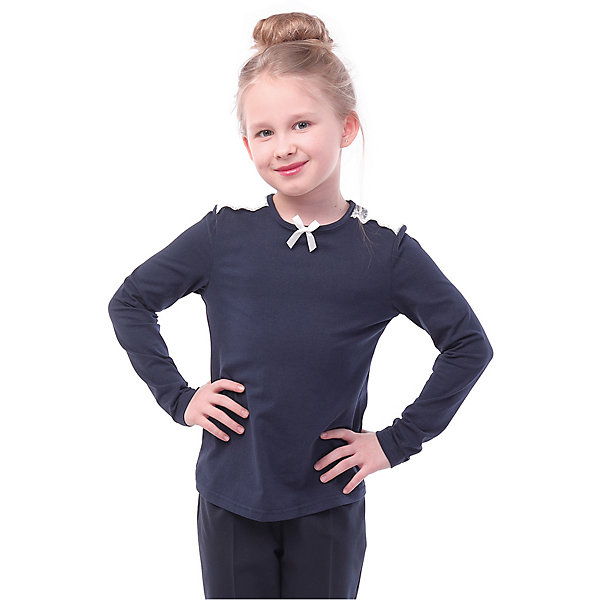Фото - Nota Bene Блузка Nota Bene для девочки nota bene nota bene школьная блузка молочная