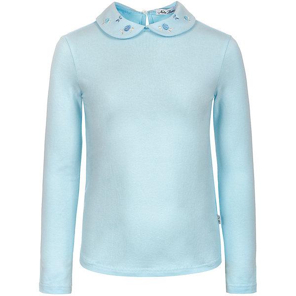 Купить Блузка Nota Bene для девочки, Россия, голубой, 140, 128, 122, 146, 152, 134, 158, Женский