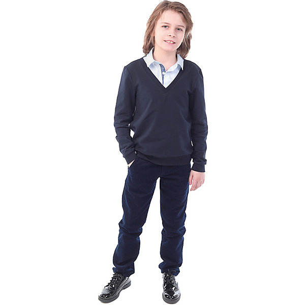 Фото - Nota Bene Джемпер Nota Bene для мальчика джемпер для мальчика nota bene цвет темно серый н9160401д 9 размер 152 158