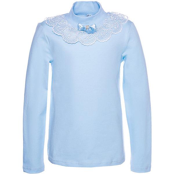 Купить Блузка Nota Bene для девочки, Россия, голубой, 152, 140, 158, 122, 146, 128, 134, Женский