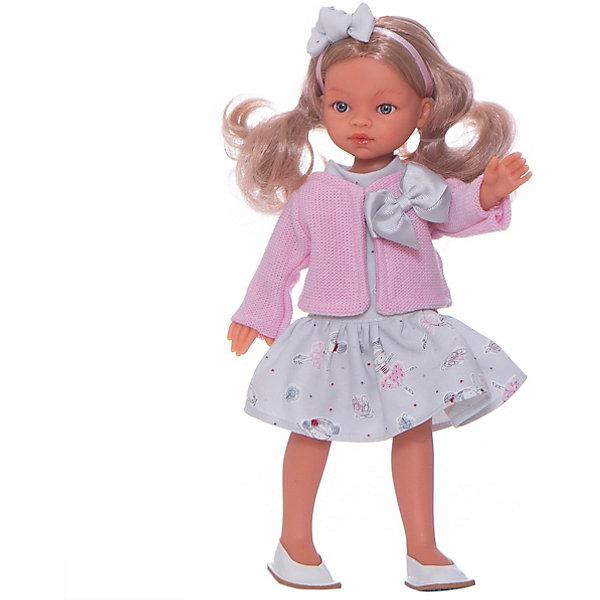 """Кукла Juan Antonio Munecas """"Анна"""", 33см., Розовый/белый"""