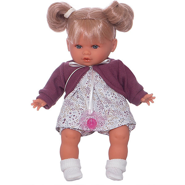"""Кукла Juan Antonio Munecas """"Монси"""" в фиолетовом, 30см., Фиолетовый"""
