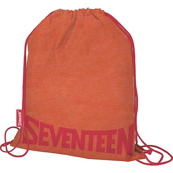 Купить Мешок для обуви Seventeen, оранжевый, Китай, Унисекс