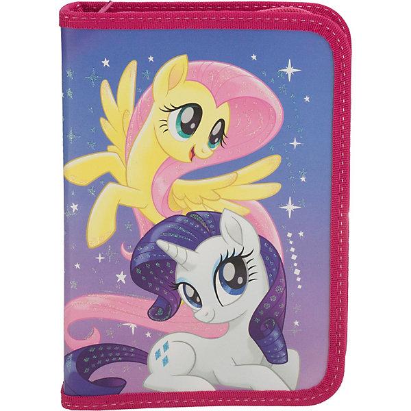 Академия групп Пенал жёсткий Академия групп My Little Pony академия групп пенал с двумя отделениями принцессы дисней