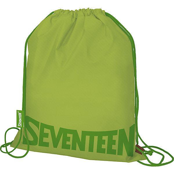 Купить Мешок для обуви Seventeen, зелёный, Китай, светло-зеленый, Унисекс