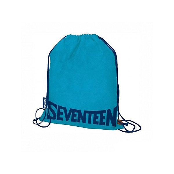 Купить Мешок для обуви Seventeen, синий, Китай, голубой, Унисекс