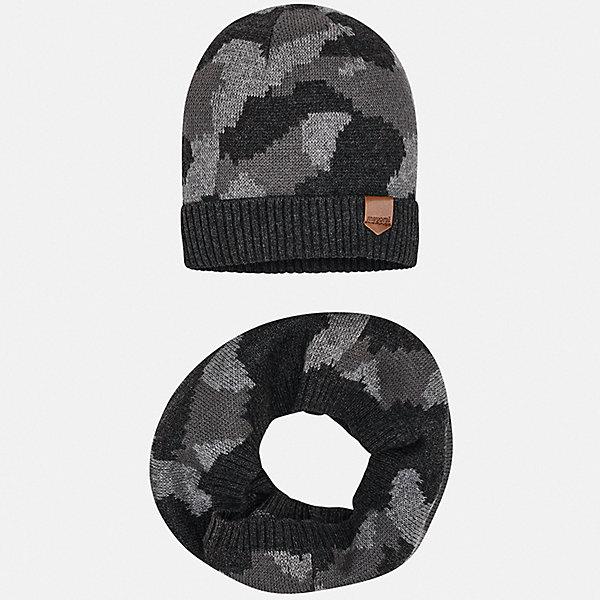 Mayoral Комплект: Шапка и шарф для мальчика