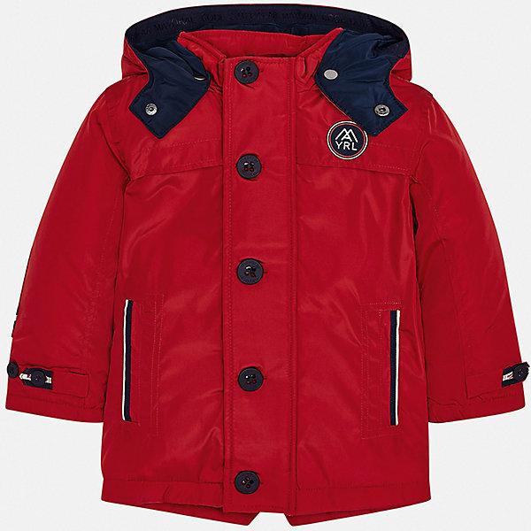 Купить Утепленная куртка Mayoral, Испания, красный, 92, 104, 128, 116, 98, 122, 134, 110, Мужской