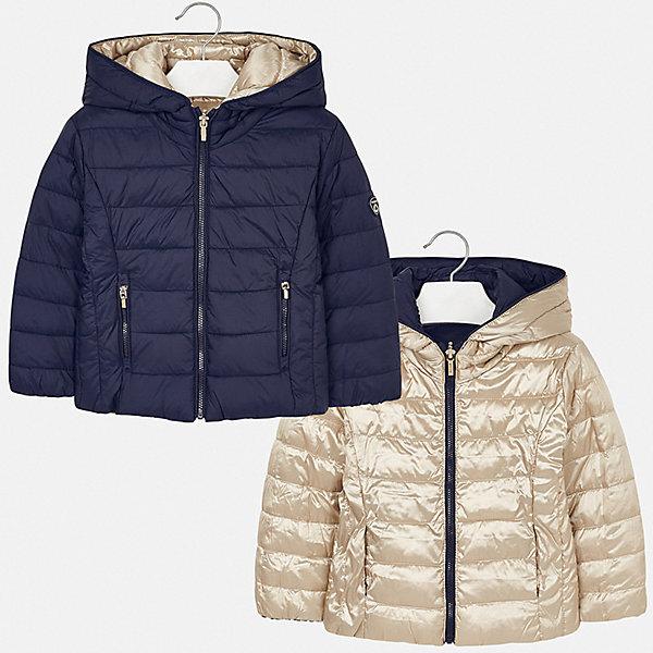 Фото - Mayoral Куртка двусторонняя Mayoral для девочки куртки пальто пуховики coccodrillo куртка для девочки wild at heart