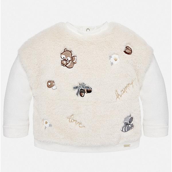 Mayoral Толстовка Mayoral для девочки зима мужчины толстовка хлопок повседневный пуловер hoodie