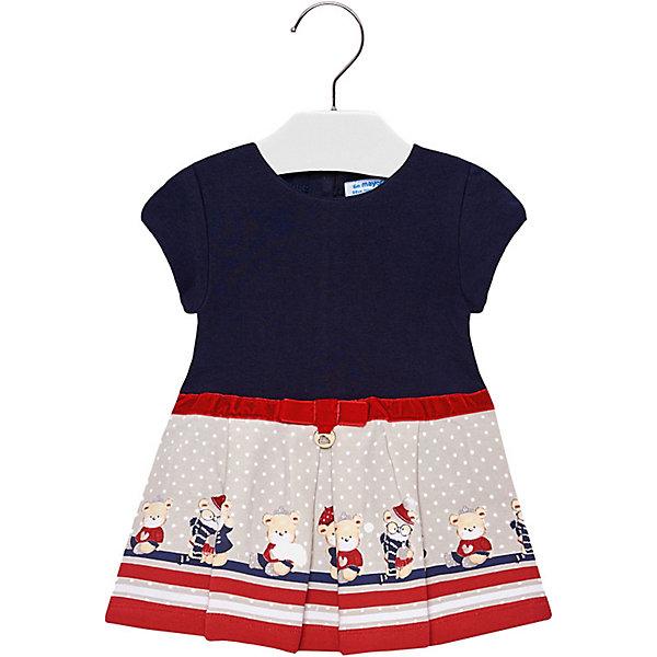 Купить Платье Mayoral для девочки, Индия, темно-синий, 92, 74, 86, 98, 80, Женский