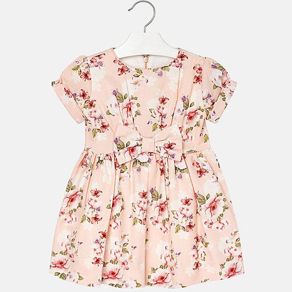 Купить Платье Mayoral для девочки, Марокко, бежевый, 92, 122, 128, 116, 110, 134, 104, 98, Женский