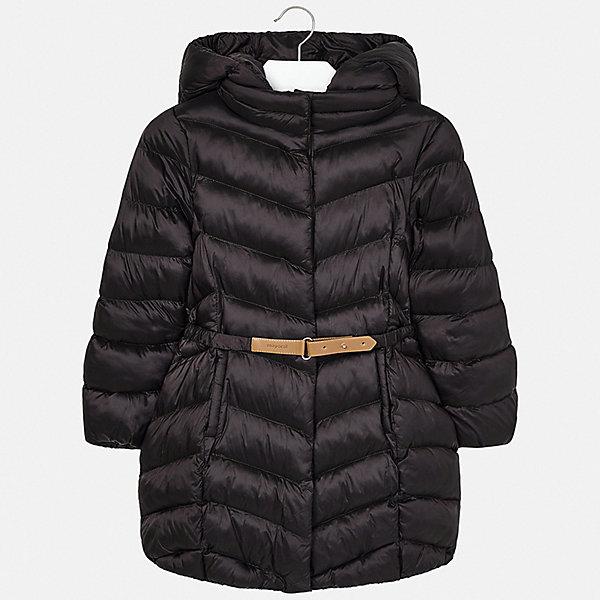 Купить Утепленная куртка Mayoral, Испания, коричневый, 128, 134/140, 153/157, 163/167, 146/152, 158/162, Женский