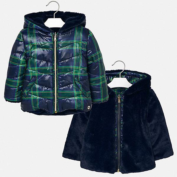 Mayoral Утепленная куртка Mayoral mayoral куртка двусторонняя mayoral для девочки
